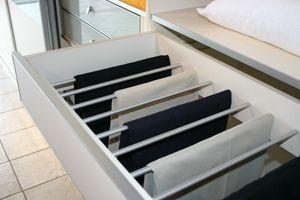 מגירות מכנסיים - סליידור ארונות הזזה