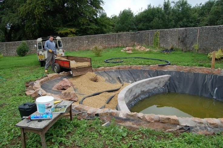 I'm a bit obsessed with having one.  One will be in my yard before the end of summer!  creating a natural swimming pond, see full article