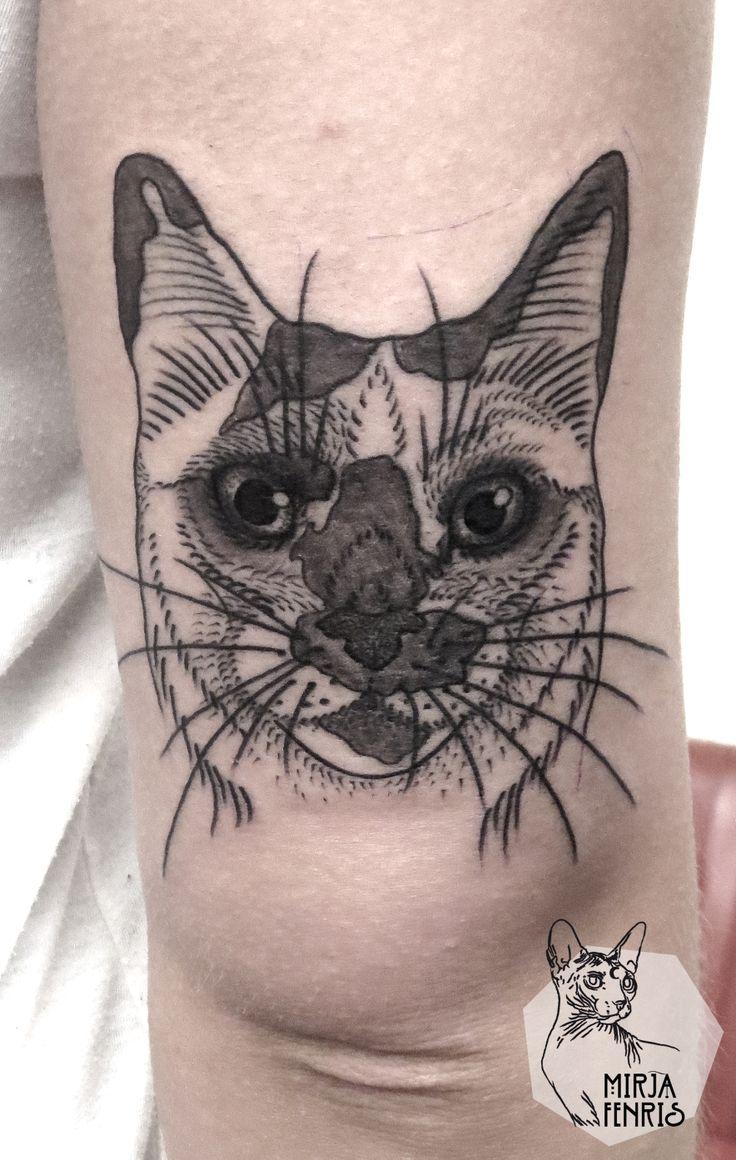 85 best images about tattoo katzen on pinterest. Black Bedroom Furniture Sets. Home Design Ideas