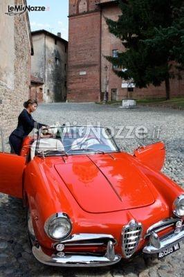 http://www.lemienozze.it/operatori-matrimonio/wedding_planner/serena_obert/media/foto/12  Auto per il matrimonio rossa, modello cabrio