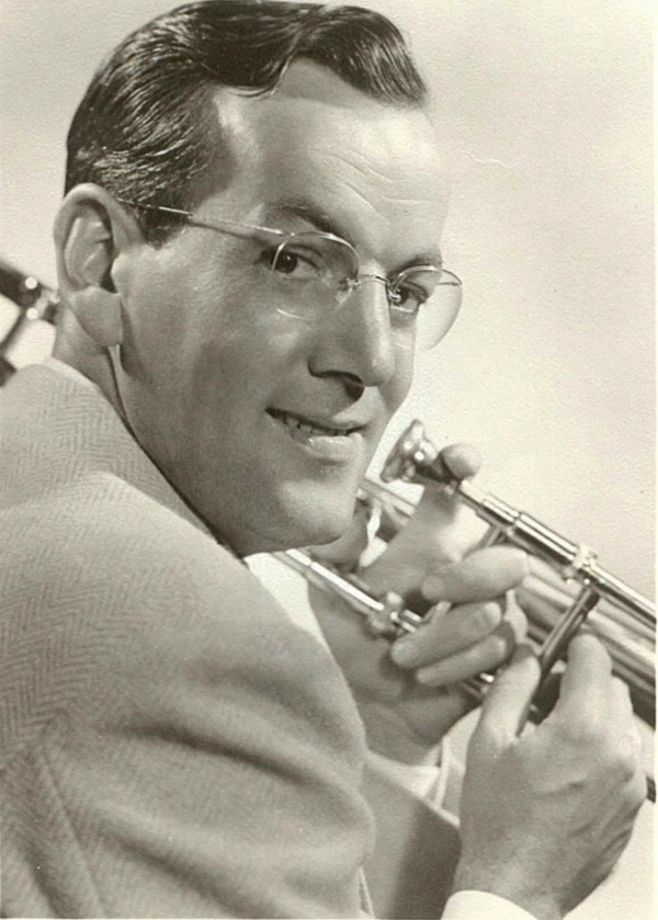 Glenn Miller - Big Band leader and popular musician of the Swing Era. Born in Clarinda, Iowa.