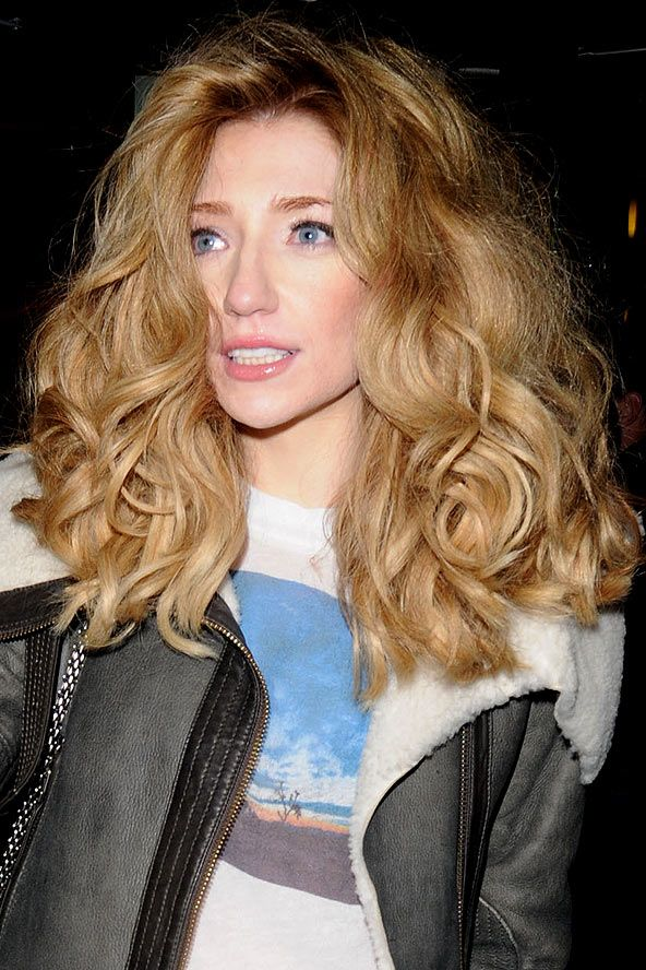 Nicola Roberts' voluminous curls