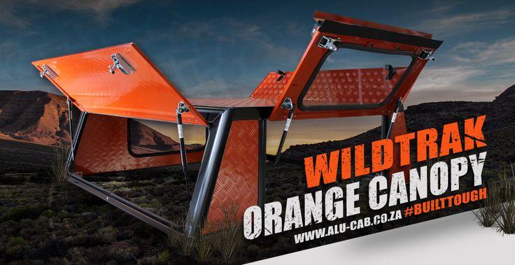Alu-Cab's Wildtrack orange canopy