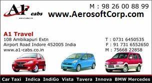 A1 Cab: A1-cabs in Indore to Book, Indica, Indigo, Toyota ...