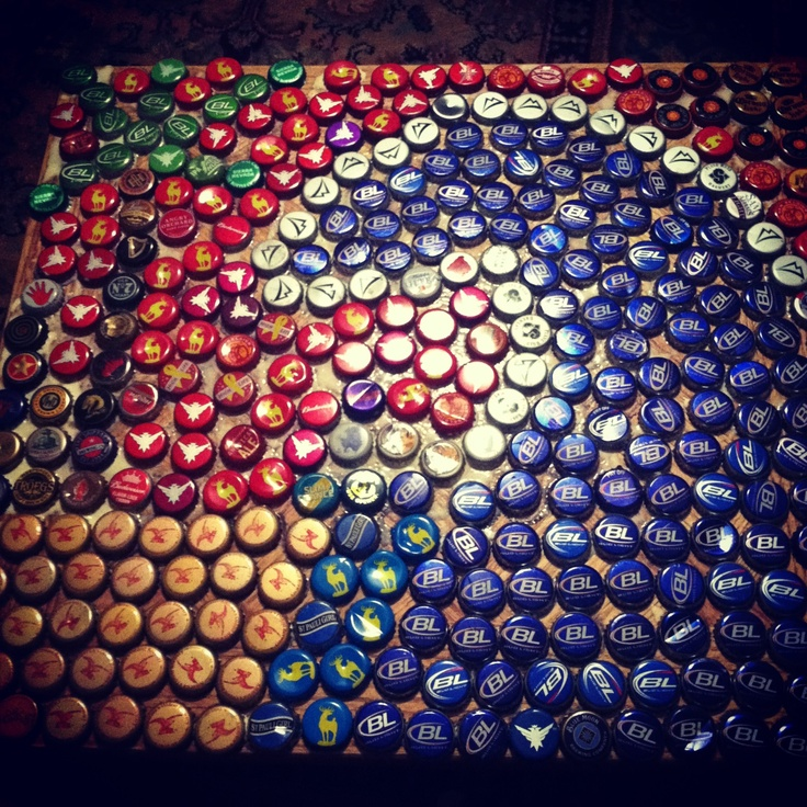17 best images about beer cap projects on pinterest be for Bottle top art projects