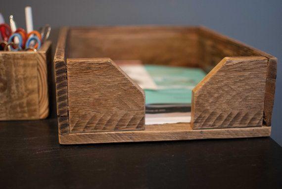 Reclaimed wood desk set http://www.etsy.com/listing/111853210/wood-desk-set-made-of-reclaimed-wood