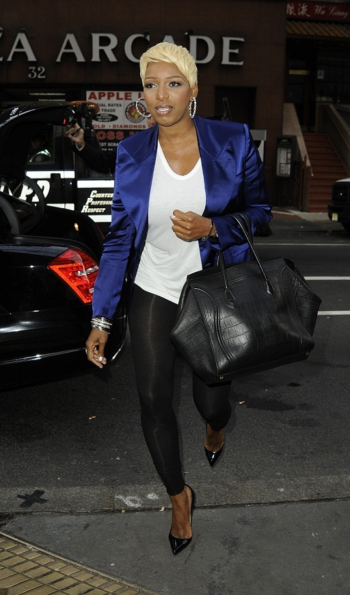 Nene Leakes At NBC Studios