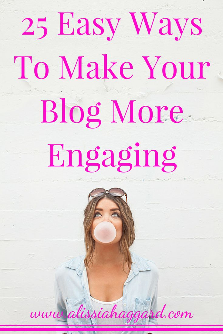 How to create a more engaging blog experience for your readers- includes tips, free download and link to an ecourse to help new bloggers get results. Read more: http://wp.me/p6M4qR-pz