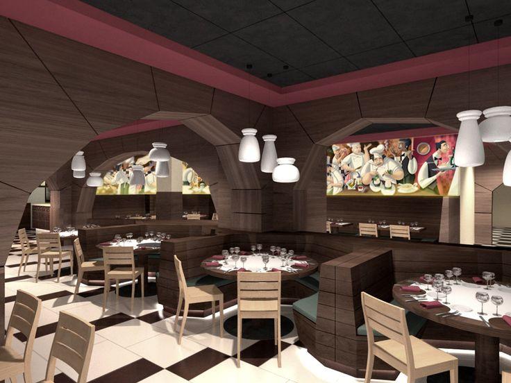 Mostaza design   Da Nicola   Madrid   Italian restaurant   Illustrations by David De Ramón  #mostazadesign #restaurant #madrid #interiordesign #interiors #italianfood #illustration #davidderamon #3D