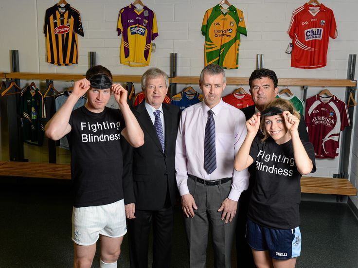 Patient-led research charity Fighting Blindness launches programme of activity as GAA charity partner 2013.