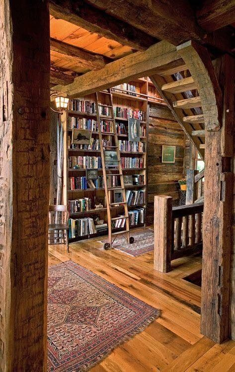 Cavernous Room With Books Dream
