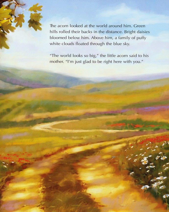 The Oak Inside The Acorn Max Lucado 9781400317332 Christianbook Com Acorn Little Acorns White Clouds
