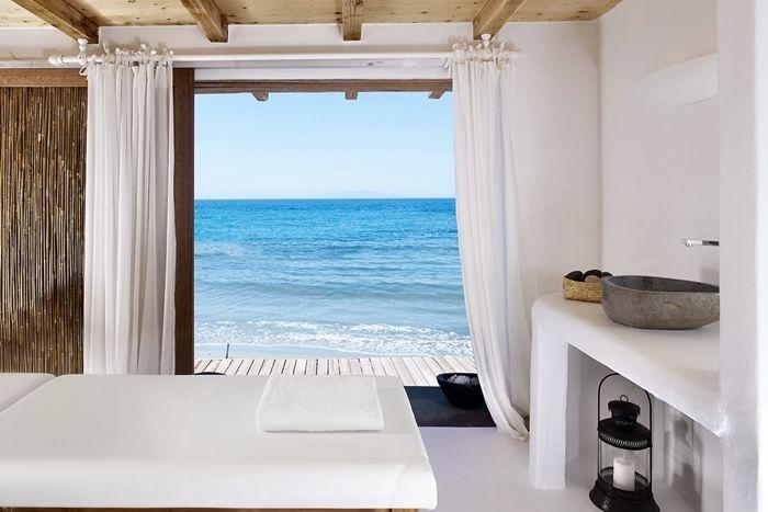 #Grecia: sale da #bagno in bianco e blu | Un blog sulla cultura dell'arredo bagno #Greece: 12 wonderful #bathrooms with a view!
