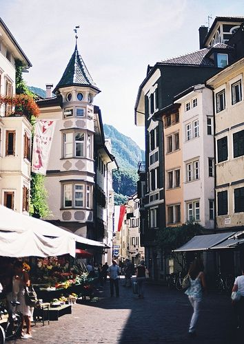 Bolzano, Italian Alps. My home away from home