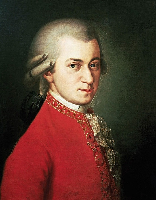 """He saw his music... in color. He wrote a song titled """"Lick my Ass."""" He wrote over six hundred pieces, most of them not involving ass hygiene. Mozart is beyond definition."""