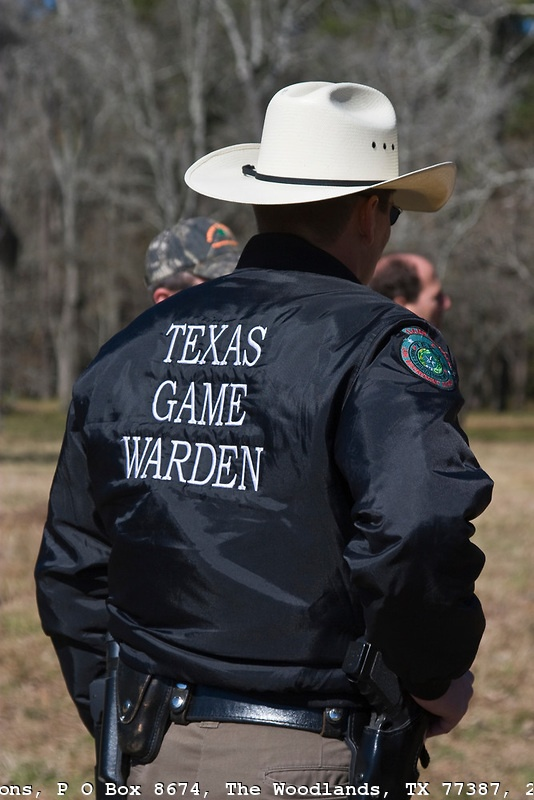 Serving and protecting my land. Most powerful law enforcement official in TX. Can stop you anytime, anywhere for any reason.  No probable cause needed.