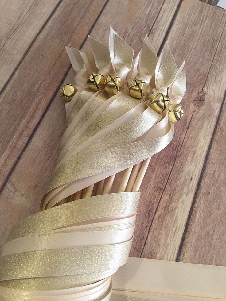 Thanks for the great review Kelly L. ★★★★★! http://etsy.me/2DwN666 #etsy #weddings #weddingwands #goldweddingwands #weddingstreamers #ribbonstreamers #weddingribbonwands #ivorywedding #wandswithbells #sendoffribbons
