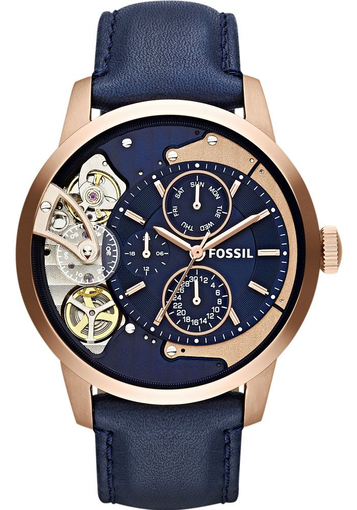 Fossil me1138 townsman twist rose gold watches pinterest fossils gold and dapper for Fossil watches