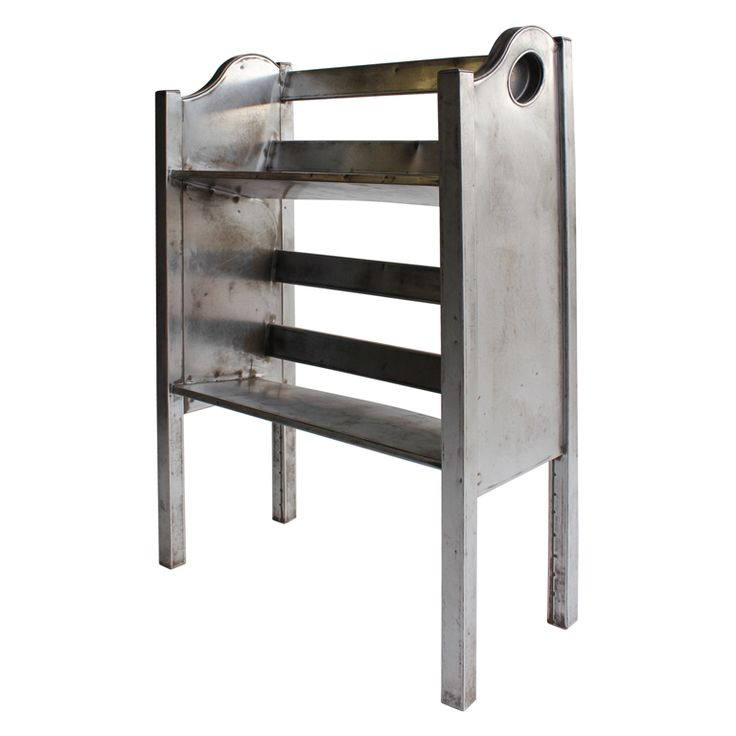 industrial age furniture. 1stdibs industrial metal 2 tier magazinebook holder by simmons age furniture