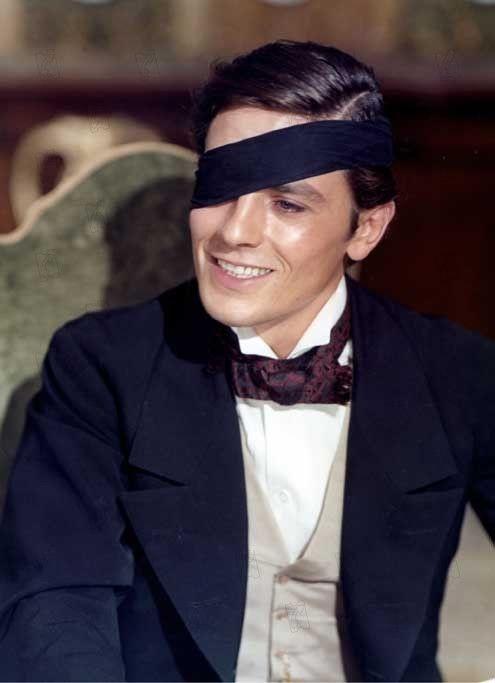 """Alain Delon - The Leopard (Italian: Il Gattopardo, """"The Serval""""; alternate title: Le Guépard) is a 1963 Italian film by director Luchino Visconti."""