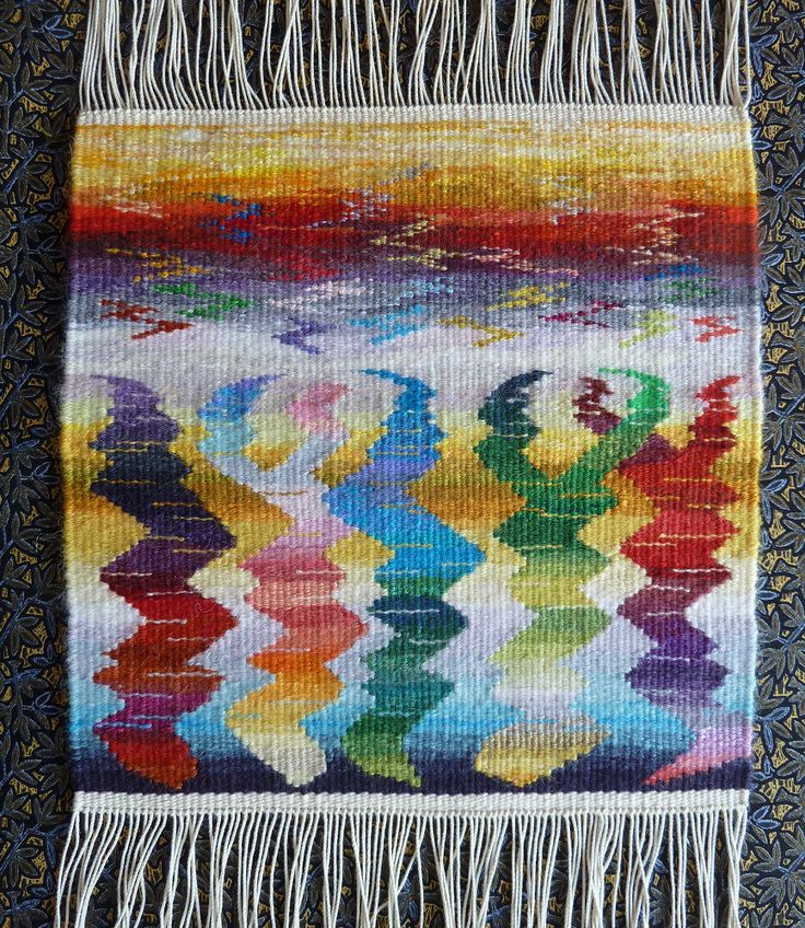 Helen Smith, tapestry. Online courses from Rebecca Mezoff Tapestry Studio. www.tapestryweaving.com