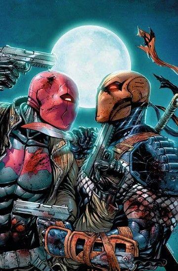 enemigos de deadpool deathstroke