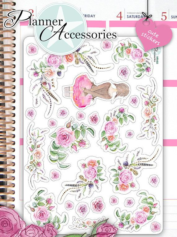 25+ Best Ideas about Stickers Fille on Pinterest