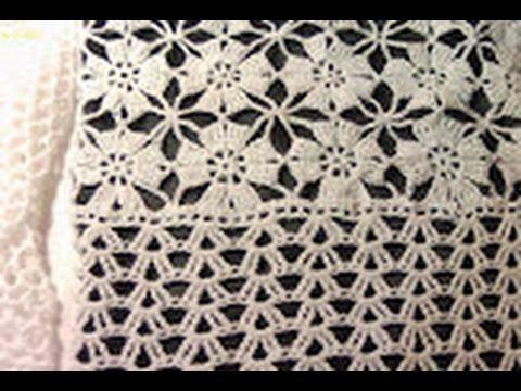 Вязание крючком из мотивов ч.5. Crochet motifs of Part 5.