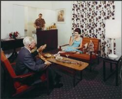 [Guest room in] Lennons Hotel, Brisbane, Queensland, 1965, [2] [picture]
