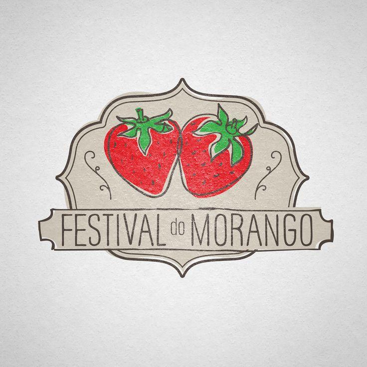 LOGOTIPO FESTIVAL DO MORANGO ZAPPA'S 2013