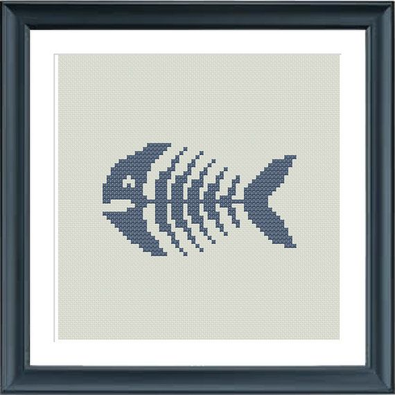 A really cool fish pattern.  The pattern comes as a PDF file that youll will be able to download immediately after purchase. In addition the PDF files