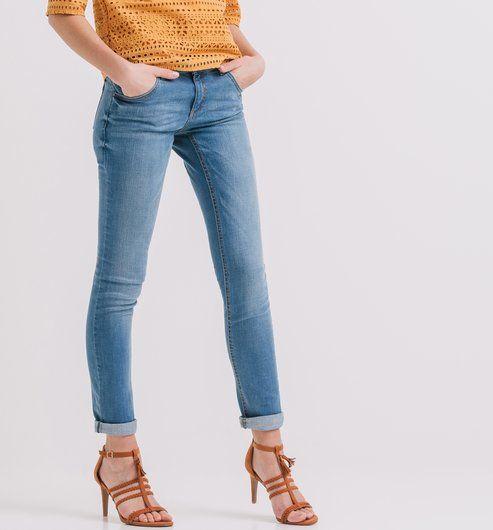Slim+Fit+Jeans+für+Damen