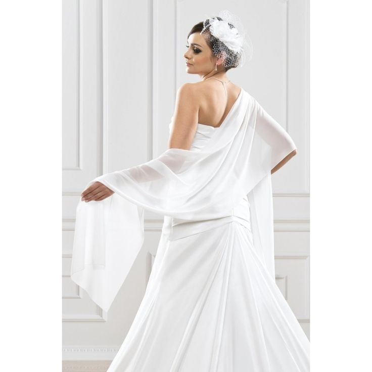 Prachtige Chiffon Sjaal  BBCE9 - The Beautiful Bride Shop