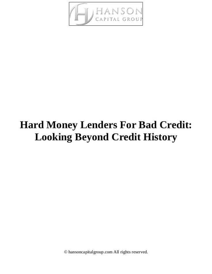 Best  Bad Credit Mortgage Lenders Ideas On   Bad