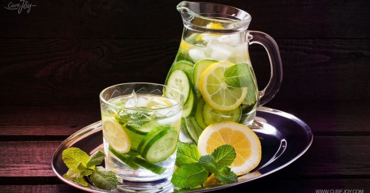 Detox Lemon, Lime, Cucumber, And Mint Water That Can Burn Fat In A Jiffy
