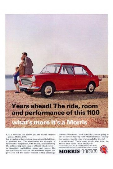 Austin 1100 Car Advert 1960s Print iPosters From £5.99