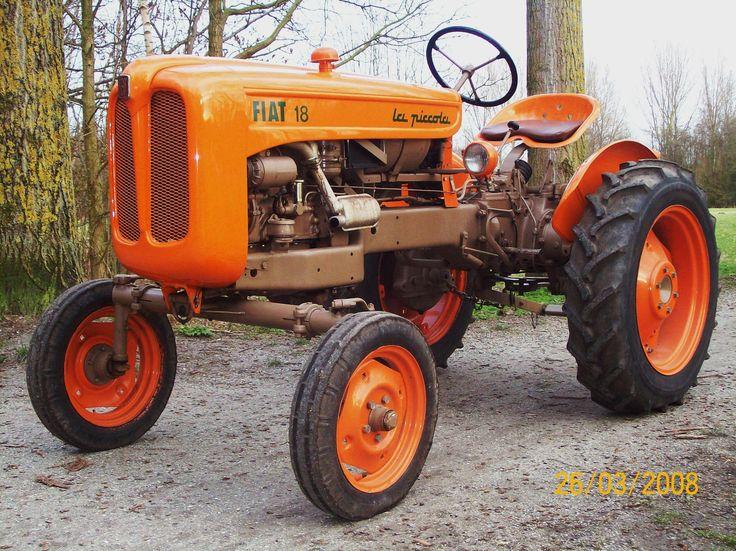 Fiat 18 la piccola tractors pinterest for Romana diesel trattori usati