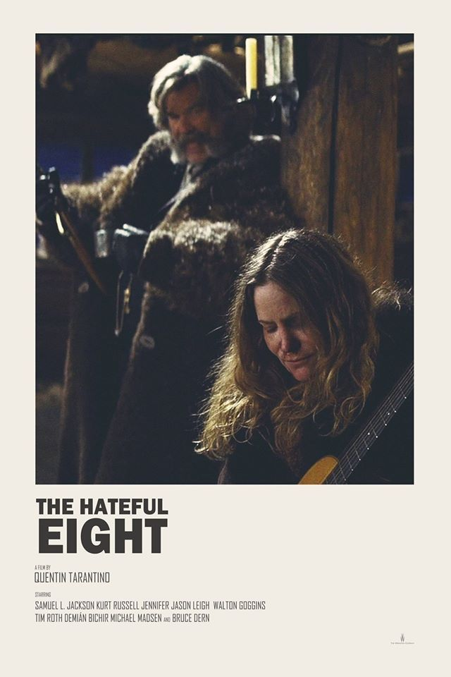 The Hateful Eight alternative movie poster Prints available HERE