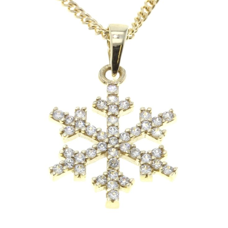 Buy our Australian made 9ct Yellow Gold Snowflake Pendant - PDS-001 online. Explore our range of custom made chain jewellery, rings, pendants, earrings and charms.
