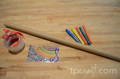 Make your own Didgeridoo out of a wrapping paper tube.