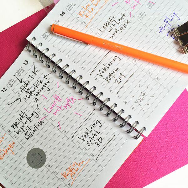 Unsere neuen Agenden sind da #agenda #unikat