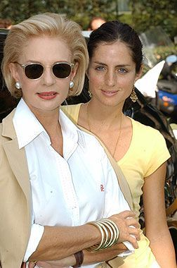 Carolina herrera, White shirts and Daughters on Pinterest