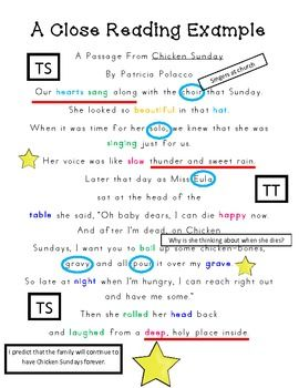 Lets Get Close With a Book: Close Reading