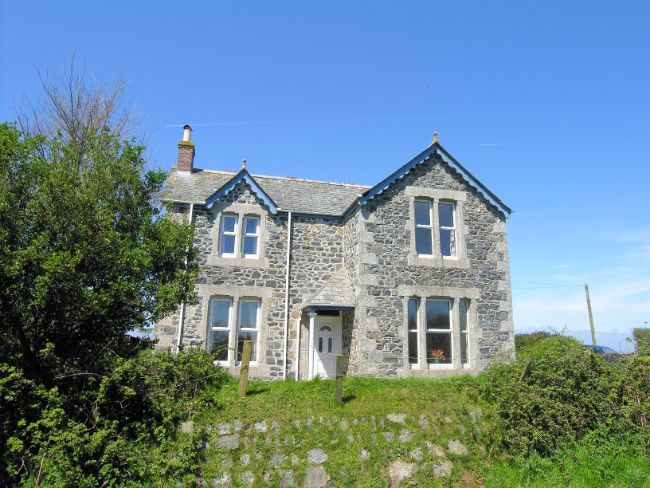 Tvall, St Keverne Stunning house with glorious sea views.