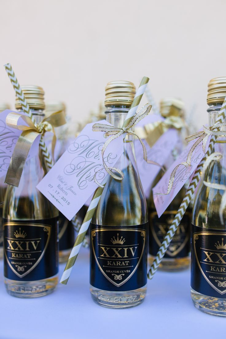 Funky Champagne Splits Wedding Favors Ornament Wedding