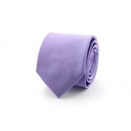 Prachtige zijde lila stropdas 9100726A