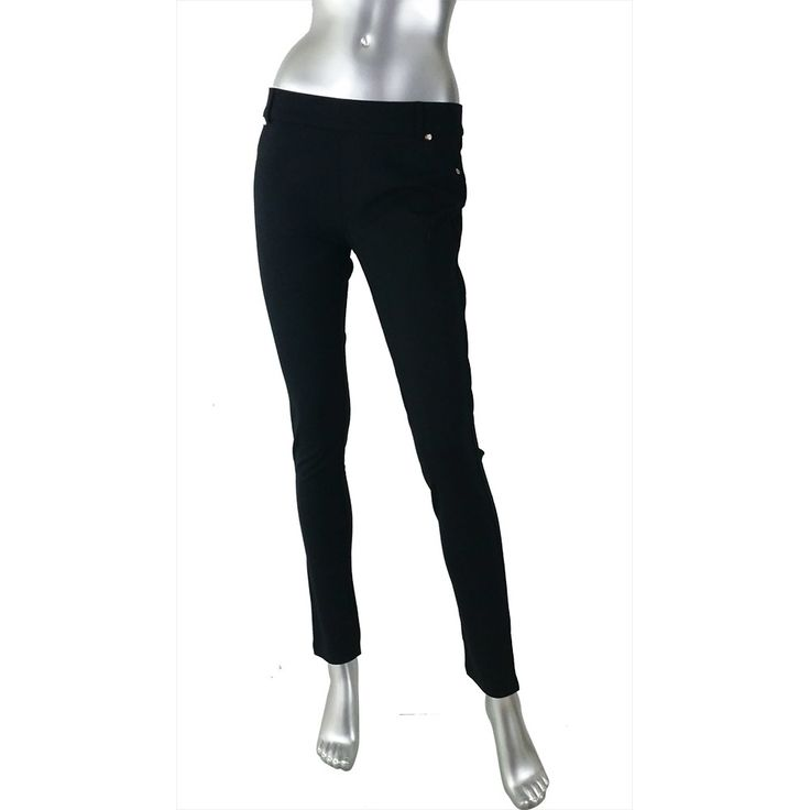 Teaberry Black Stretch Pant