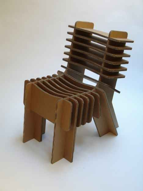 Marvelous Davidgraas: Furniture From Cardboard Good Looking