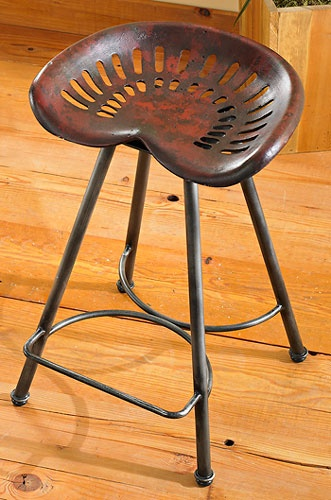 """5754768001: Tractor Seat 24"""" Stool"""