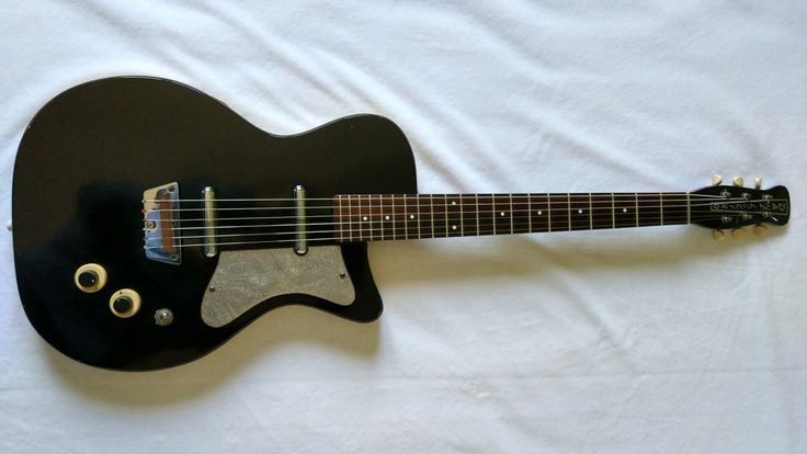 Danelectro (Silvertone) 1303 1958 (vintage en super état), tout d'origine!
